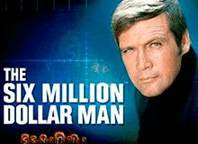 Азартный аппарат The Six Million Dollar Man